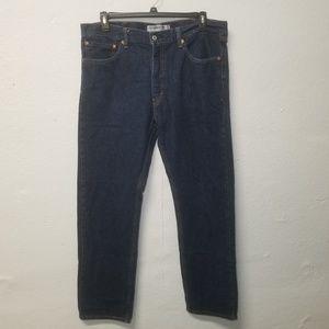 LEVI 505 Straight Fit Blue Jeans 38x34
